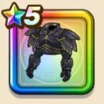闇騎士の鎧上